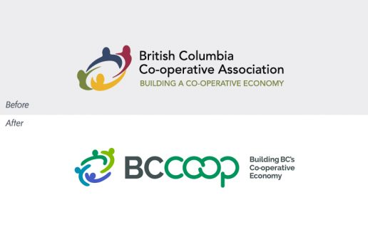 BC Coop Association Before and After logo
