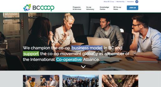 BC Coop Association Rebrand by Backyard Creative
