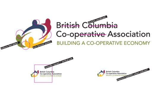 BC Coop Association logo revisions