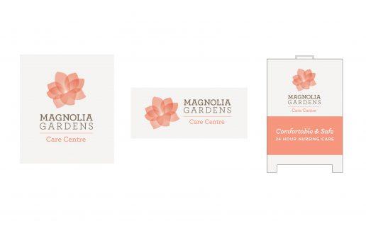Care Centre Logo, Magnolia Gardens Redesign — for Bria Communities by Backyard Creative