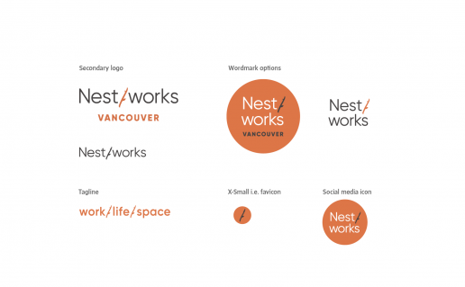 Nestworks Vancouver logo family
