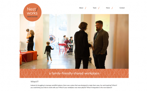 Nestworks website (by Kun Studios)