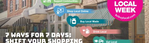 7 ways for 7 days: shift your shopping to local