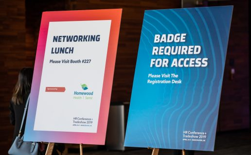 CPHR Conference 2019 signage