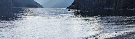 Comox Lake, by Calliope Gazetas