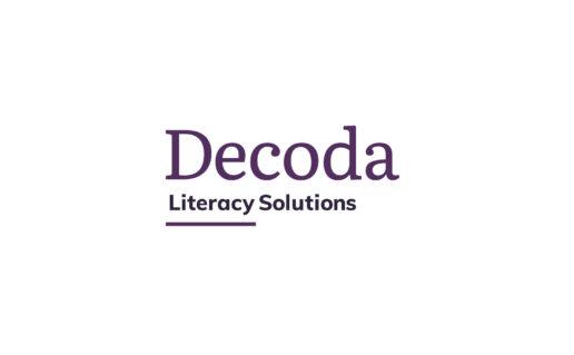 Decoda logo on white background