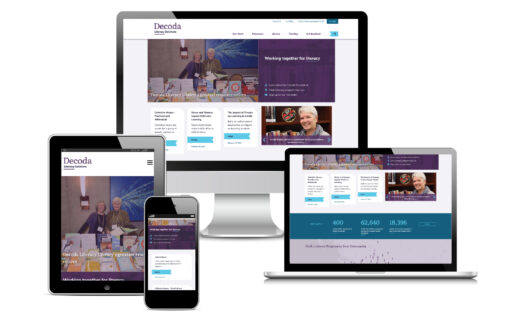 New Decoda website home page