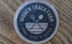 Hidden Track Farm stickers