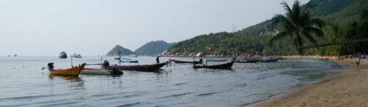 beach in Koh Tao Thailand 2013
